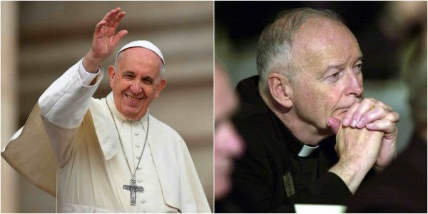 Photo of Pope defrocks Cardinal Theodore McCarrick over sex abuse allegations