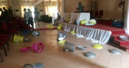 Photo of Nigeria Decides: Thugs invade polling unit, snatch ballot boxes in Nassarawa
