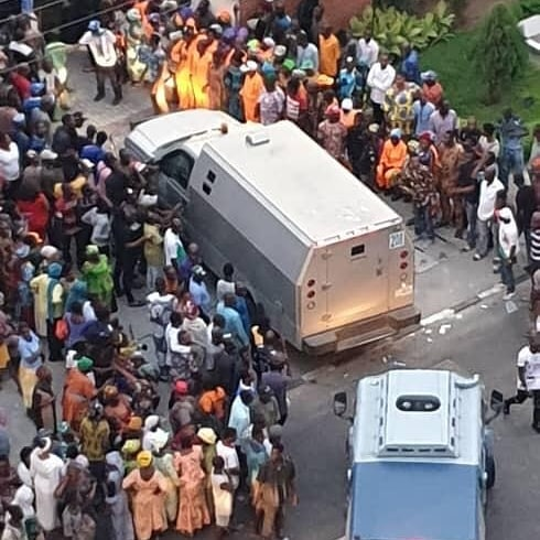 Tinubu reacts to allegations a Bullion van stashed with money was parked in Ikoyi home(video)