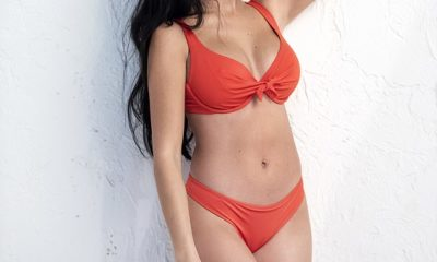 Cristiano Ronaldo's girlfriend Georgina Rodriguez stunned in a collection of lingerie and swimwear after being unveiled as the new face of Yamamay