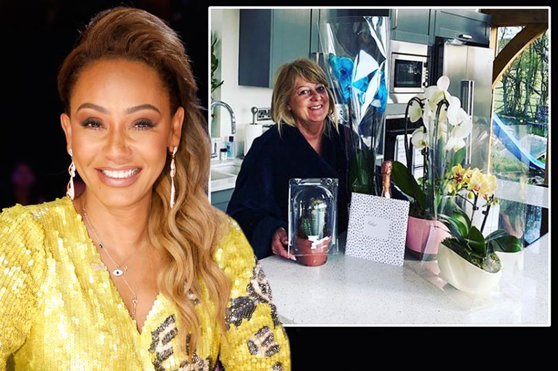 Photo of Mel B posts adorable message to mum on Mother's Day after ending bitter family feud
