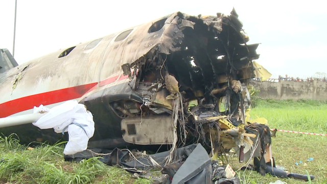 Photo of Nigerian College of Aviation aircraft crashes
