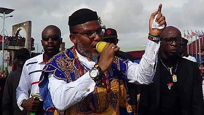 Nnamdi Kanu storms Nigeria February