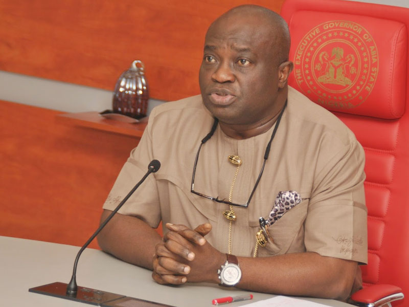 Photo of Abia state governor, Okezie Ikpeazu recovers from COVID-19