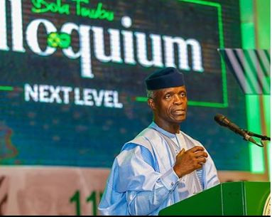 Photo of Osinbajo blames past administration for wasting Nigeria's resources