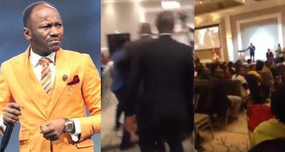 Man attacks Apostle Johnson Suleiman