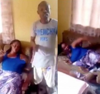 Photo of Video of men beating their married sister over cheating allegation