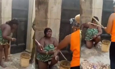 Lady arrested for torturing circulating nude video of husband's mistress