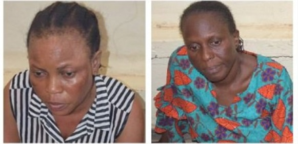 Photo of Two nurses arrested for allegedly selling baby for N350,000 (Photos)