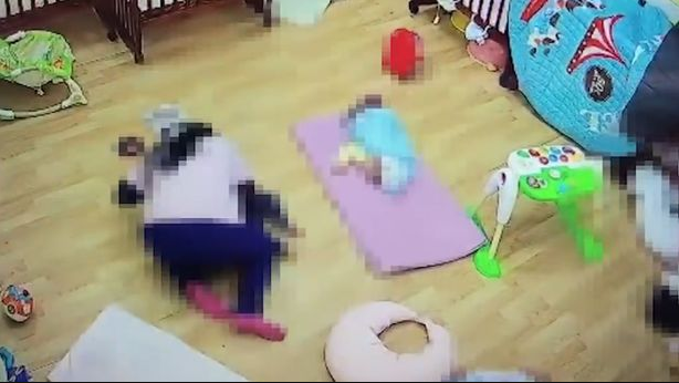 Teacher suffocates and kills baby by laying on top of him because he refused to take a nap