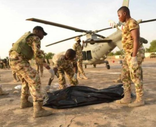 Photo of Helicopter blade chops off the head of Air Marshal In Borno State (Photo)