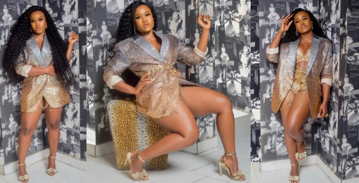 Cee-C in hot lingerie