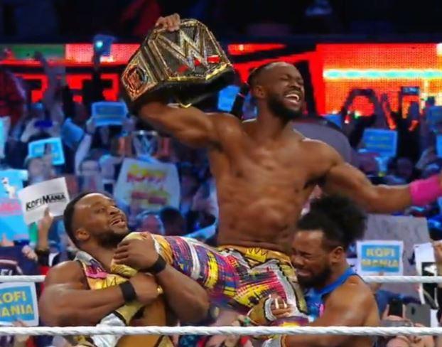 Photo of Kofi Kingston becomes the first ever black man to emerge WWE champion
