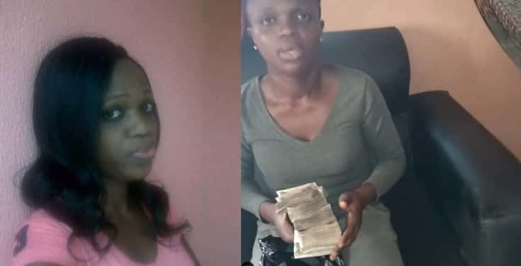 Lady returns N250k extra money paid to her in bank