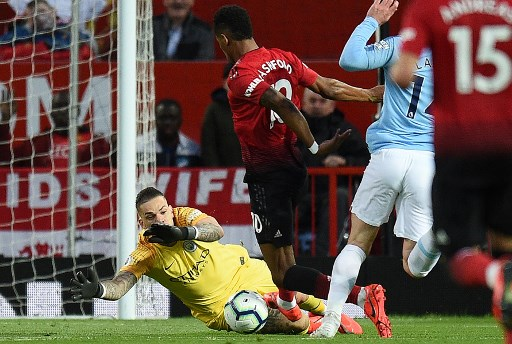 Manchester City beats United 2 - 0