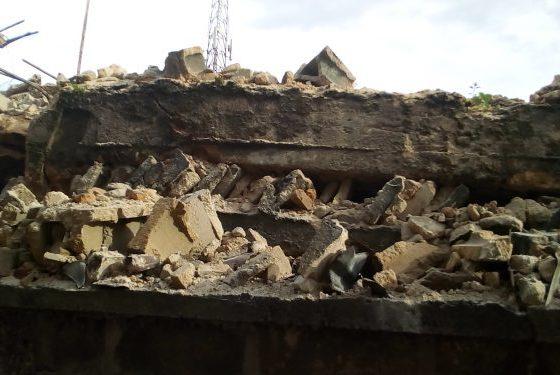 Owerri collapsed building