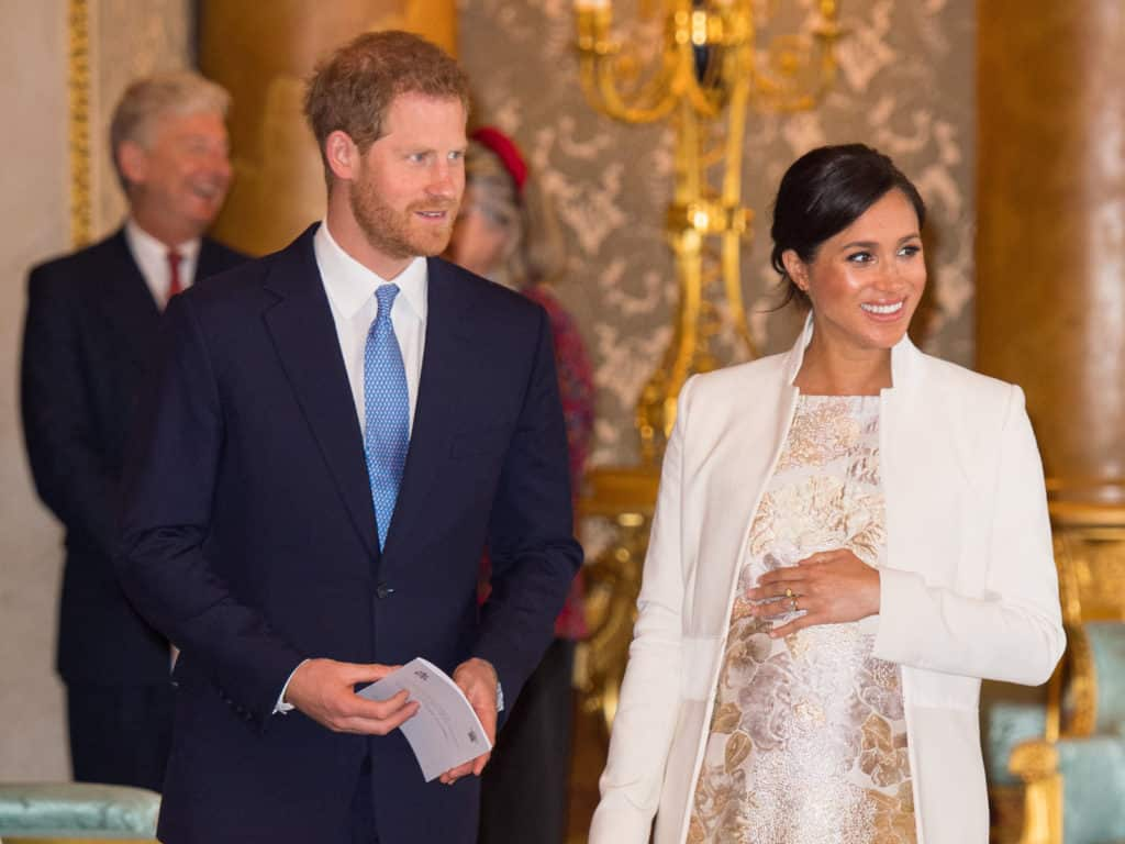 Photo of Prince Harry and Meghan Markle welcome baby boy