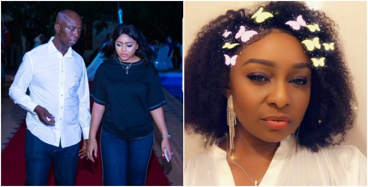 "Photo of ""Live with the consequences""- Nollywood actress, Victoria Inyama says to Regina Daniels"