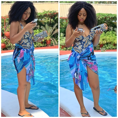 Regina Daniels sagged breasts