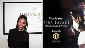 Photo of Tiwa Savage officially exit from Mavin Records