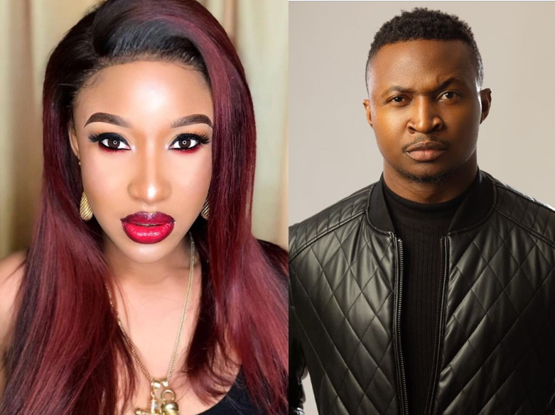 Photo of Tonto Dikeh fires back at comedian Funny Bone for commenting on her marriage saga (Screenshot)