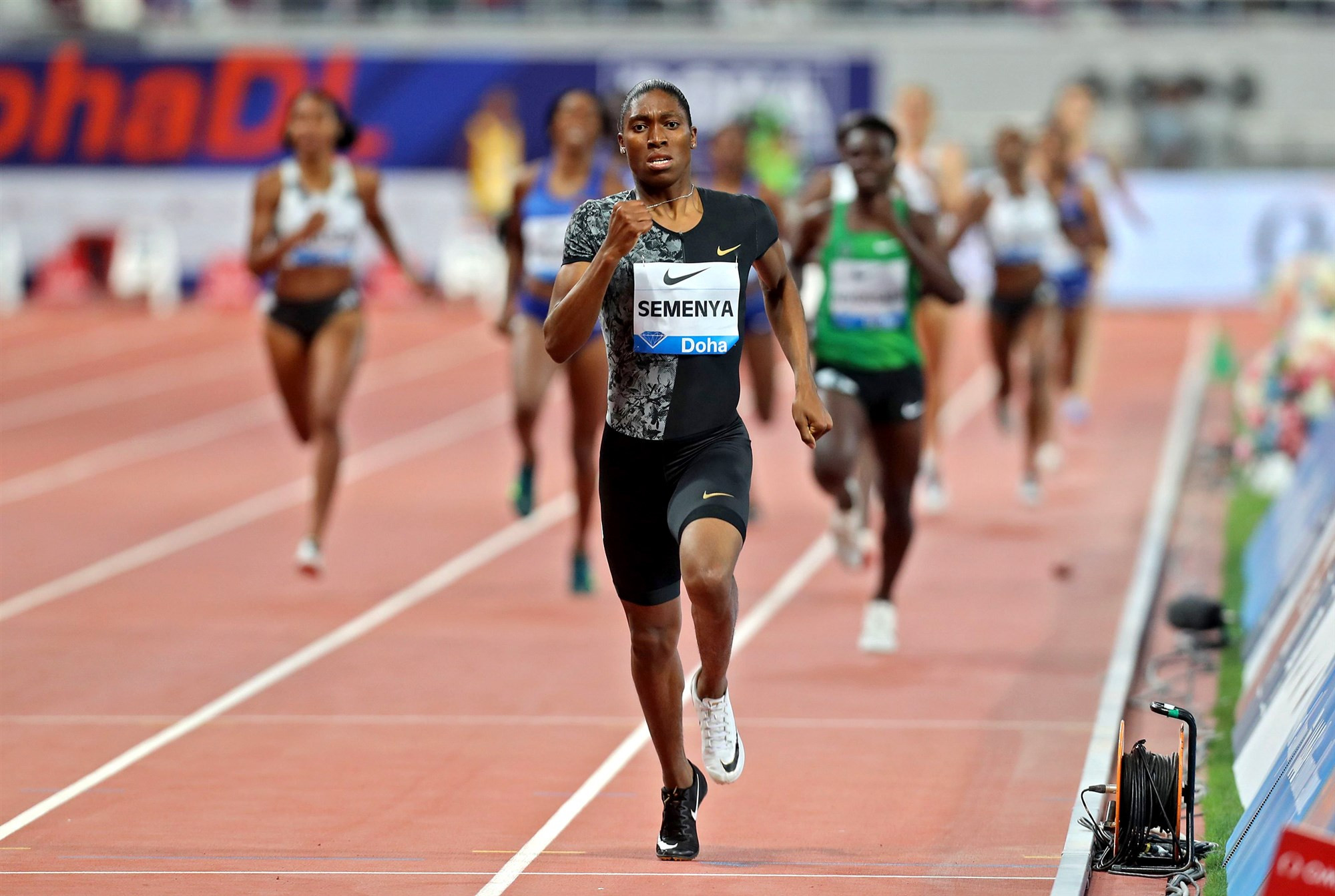 Photo of Olympic champion and intersex athlete, Caster Semenya allowed to participate in men's events – IAAF