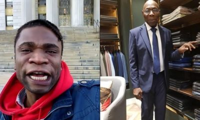 Speed Darlington attacks Obasanjo, calls an international thief