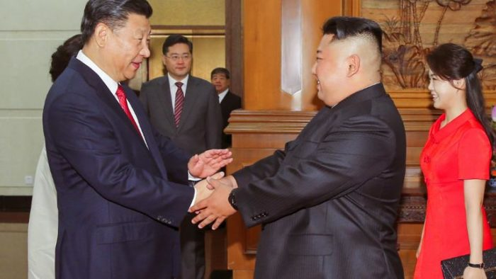China ties with North Korea