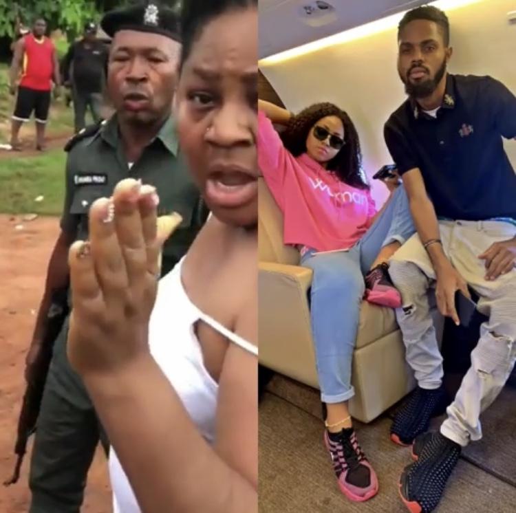 Regina Daniels' brother arrested by Nigerian police (Video)
