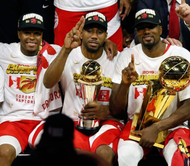 Toronto Raptors win their first ever NBA championship
