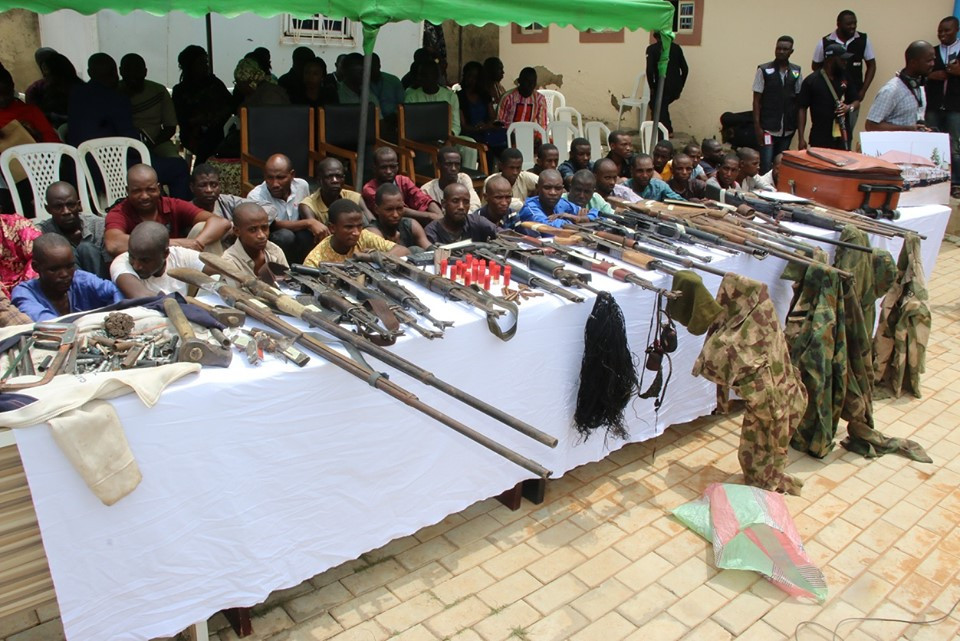 Nigeria Police recovers 30 firearms