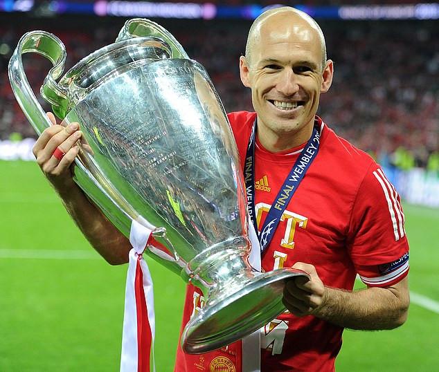 Arjen Robben retirement