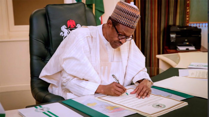 Buhari signs N10.8trn revised 2020 Budget