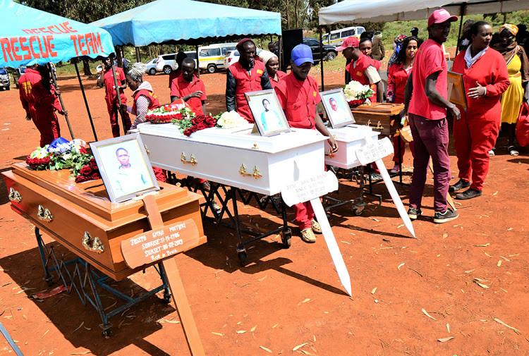 Kenyan woman hacks her husband to death