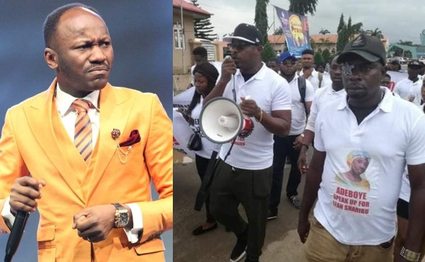Photo of Apostle Suleman slams Eedris Abdulkareem and Baba Fryo over protest against Pastor Adeboye