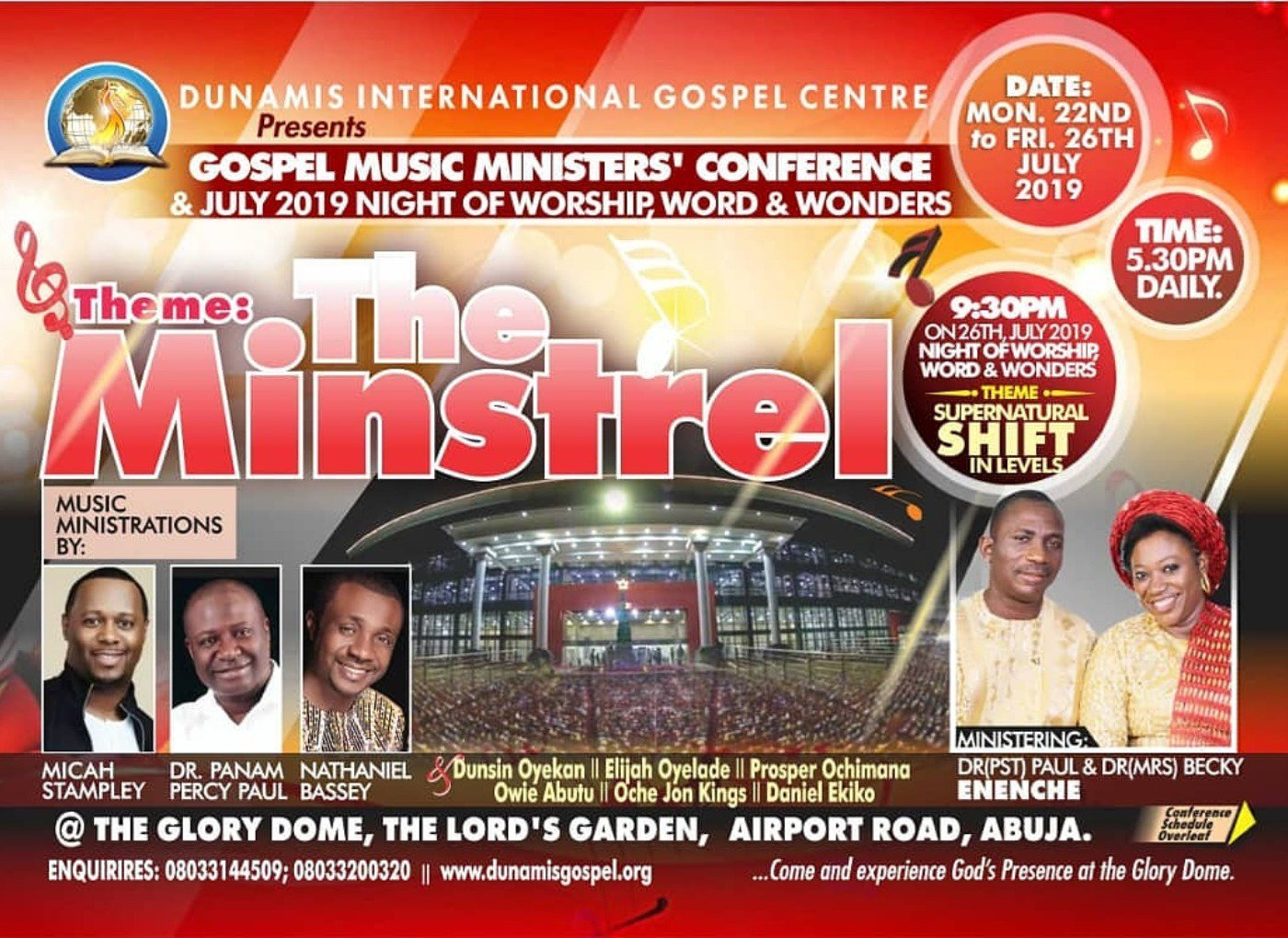 Dunamis Gospel Music Ministers' Conference - The Minstrel