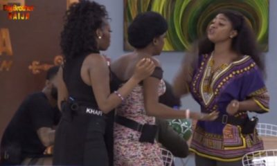 Thelma and Tacha fight