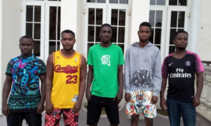 Five internet fraudsters bag 6 months jail sentence in Calabar