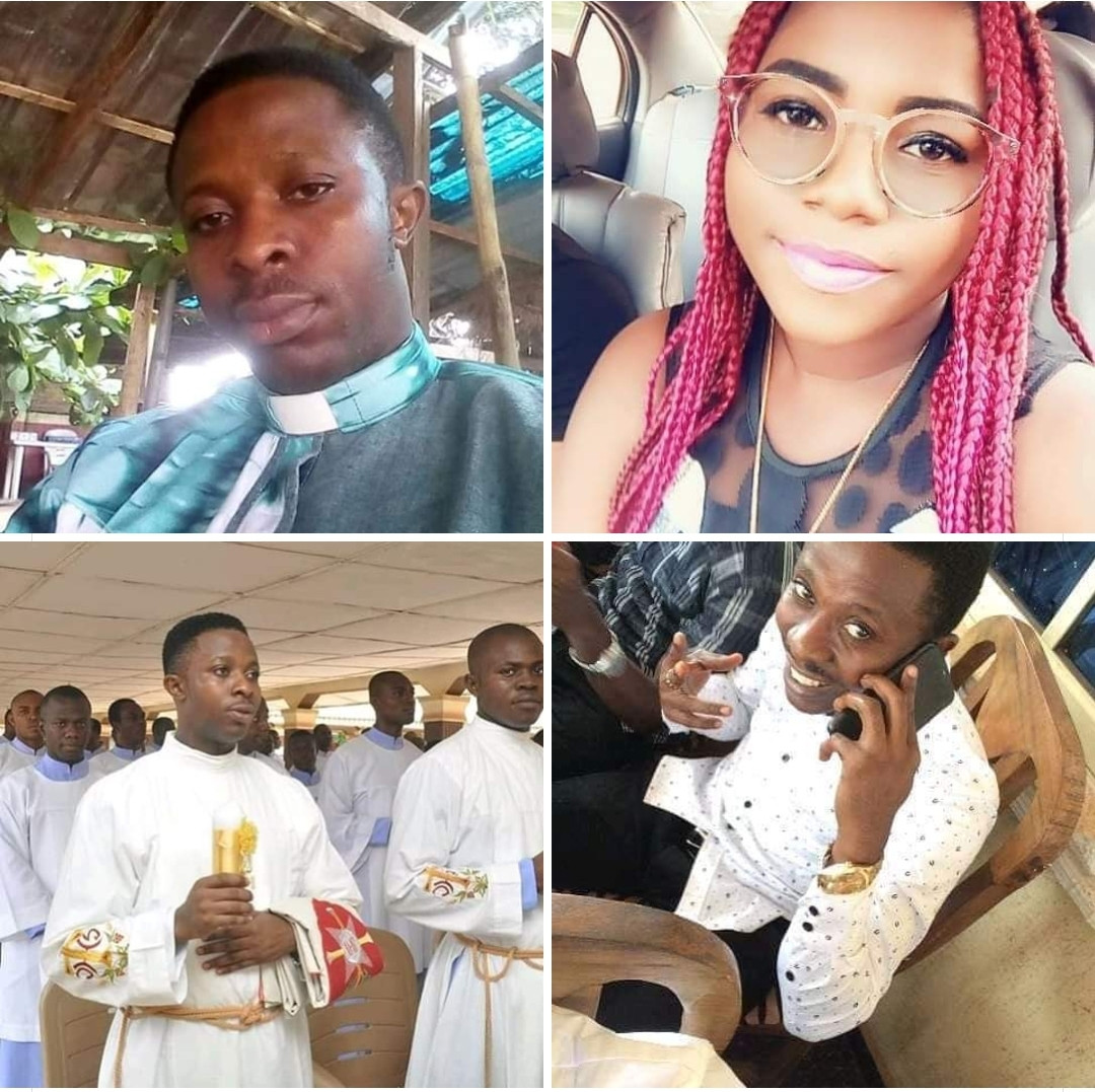 Photo of Lady places a curse on Rev Patrick Uchego for beating her mum