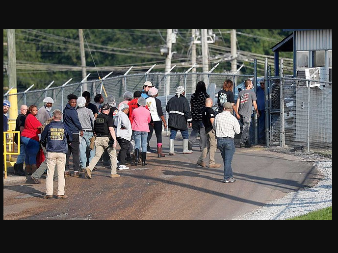 Photo of US Immigration release nearly half of the 680 arrested immigrants in Mississipi raids