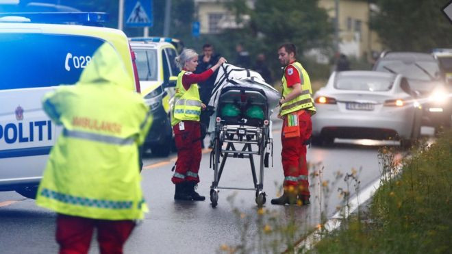 Norway Mosque Shooting