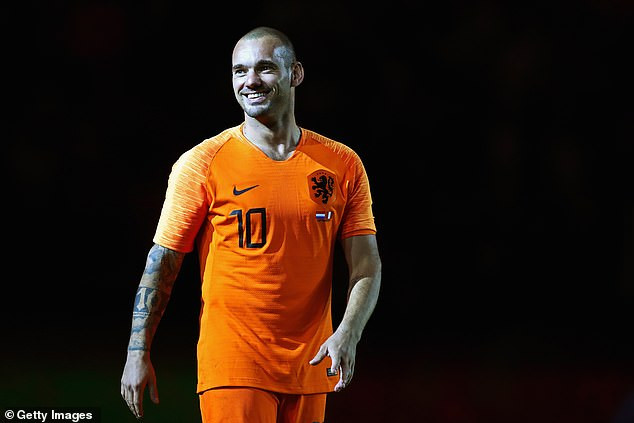 Photo of Former Inter Milan and Holland midfielder Wesley Sneijder retires from football at 35