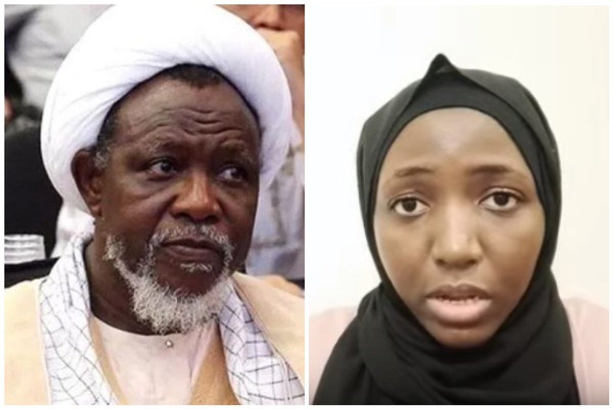 Photo of My father is suffering from lead poisoning and could die at any moment- El-Zakzaky's daughter says