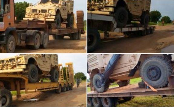 Photo of Nigerian Army intercept 'strange' military equipment in Adamawa State