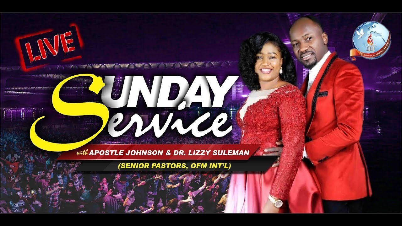 Live Service With Apostle Johnson Suleman 17 May 2020