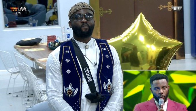 BBNaija Live Eviction: Gedoni Has Been Evicted