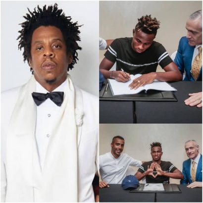 Photo of Jay Z signs Super Eagles winger Samuel Chukwueze to his Roc Nation sport management label