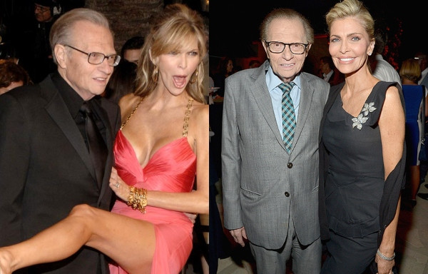 Photo of Larry King files for divorce from 7th wife, Shawn King