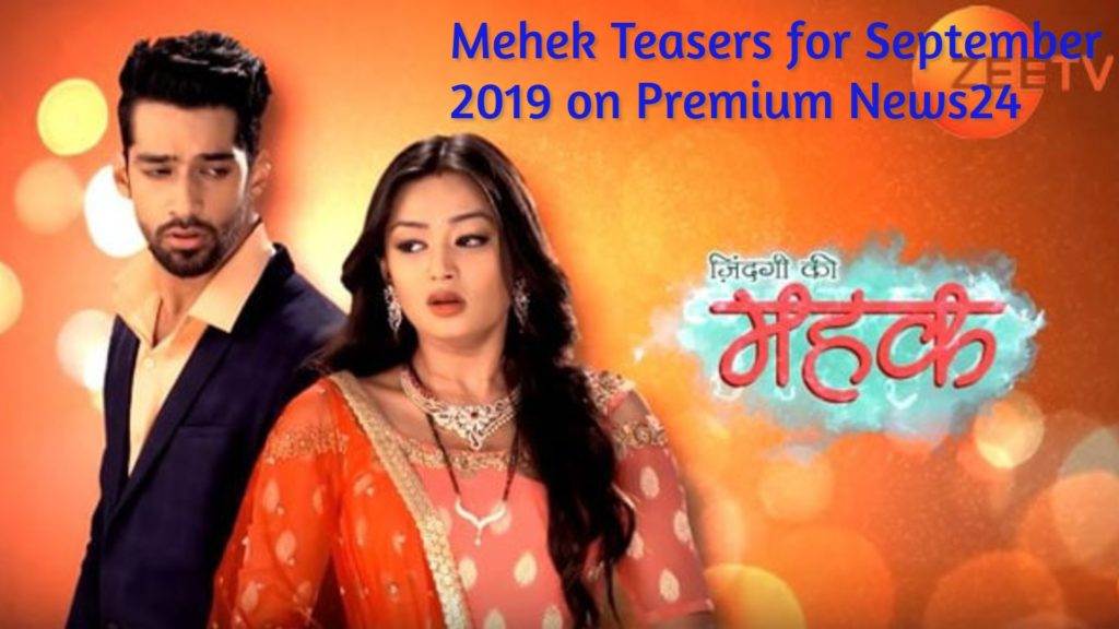 , Mehek 10th April 2019 Teasers on Zee World Series