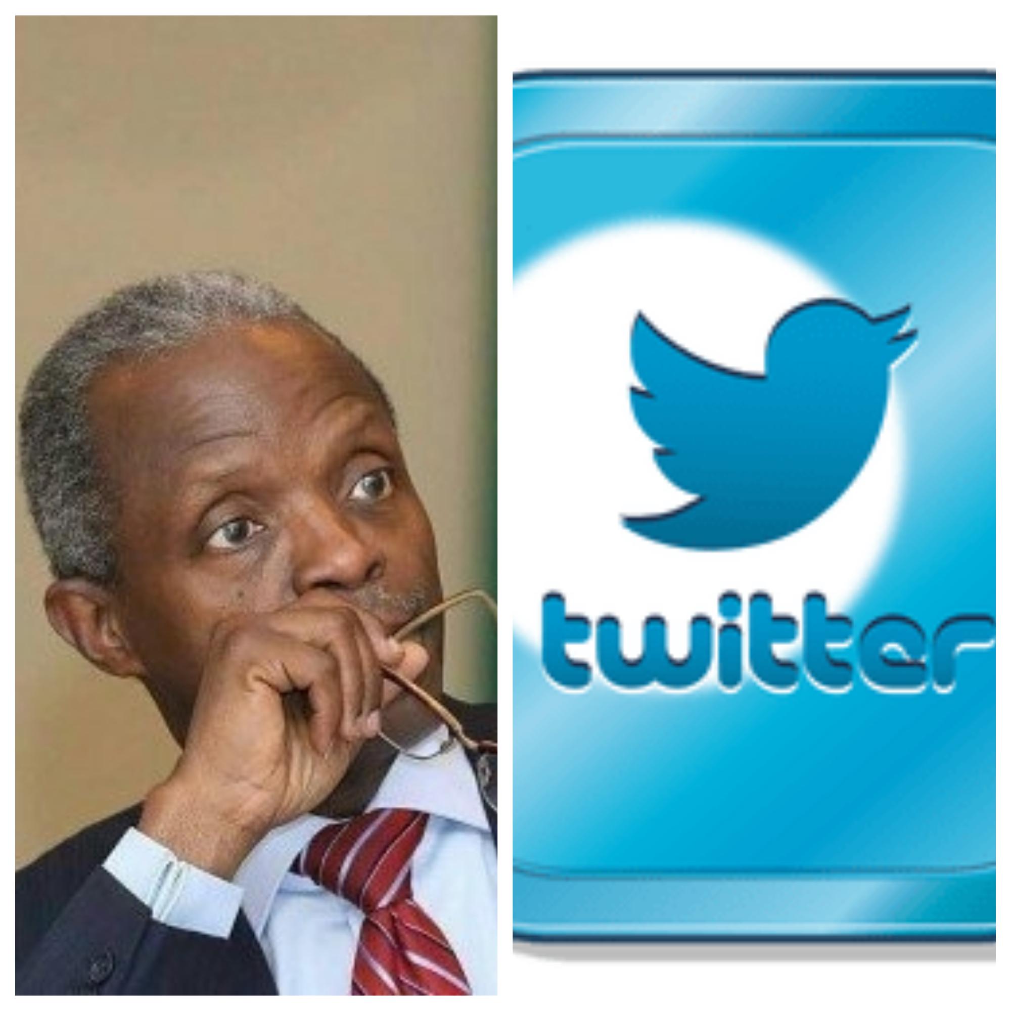 Photo of Twitter unverifies Osinbajo account, deletes over 2000 tweets
